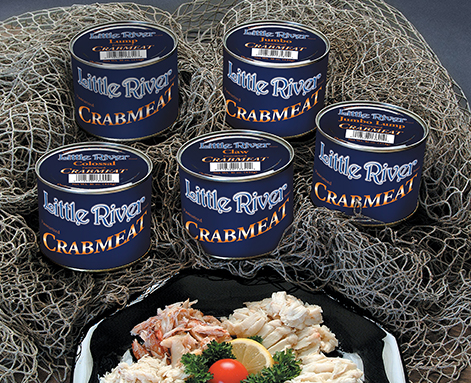 Imported crab meat product photo
